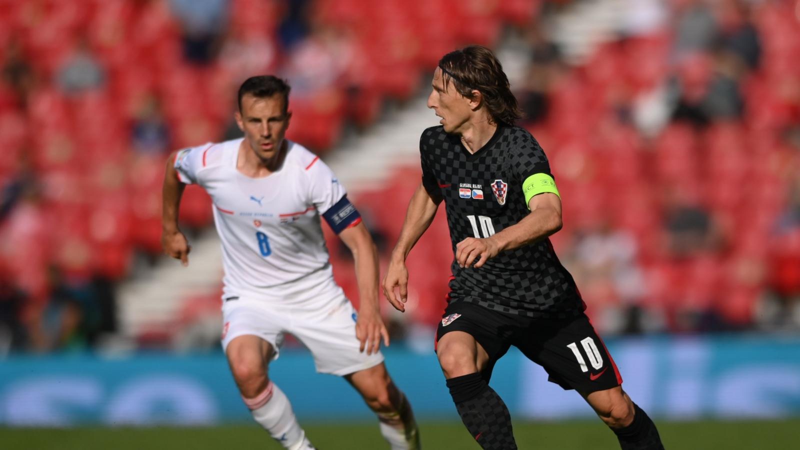 """Bị CH Séc cầm hòa, Croatia phải """"quyết chiến"""" ở lượt cuối vòng bảng EURO 2021"""