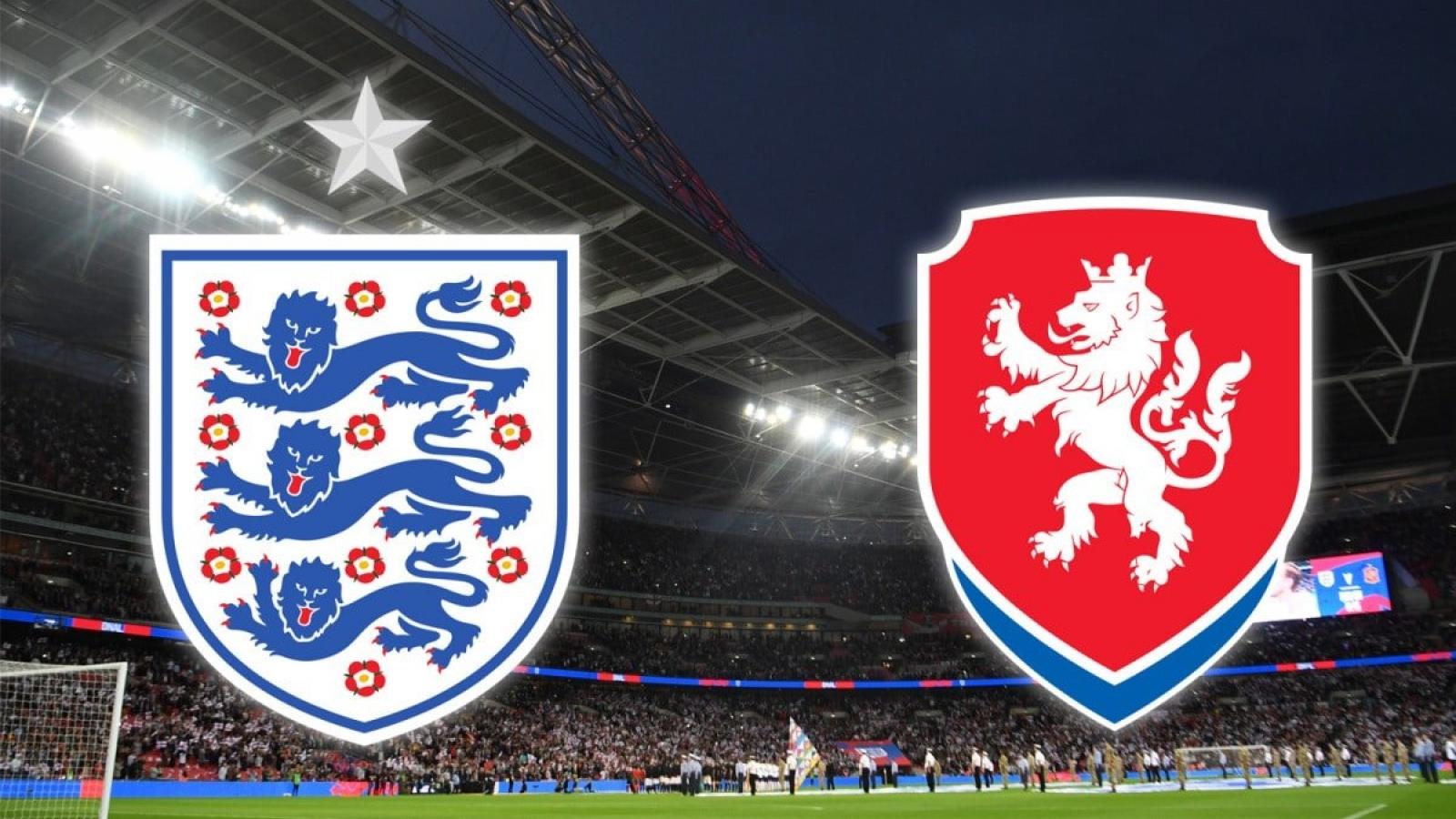 Trực tiếp CH Séc vs Anh: Phân định ngôi đầu bảng