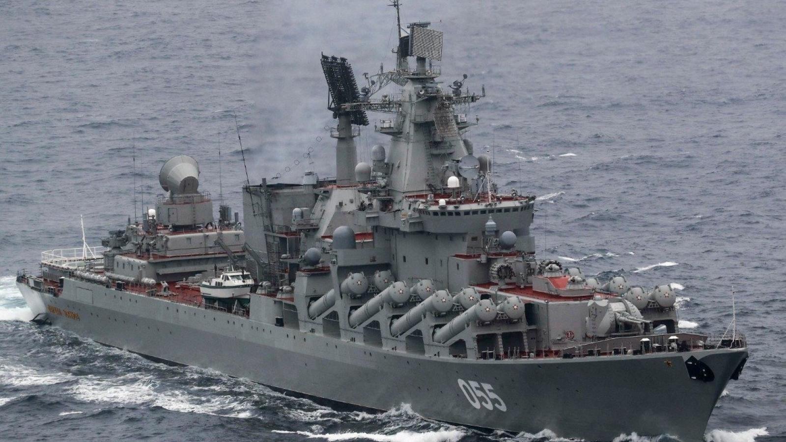 """Điểm danh 5 tàu chiến giúp Hải quân Nga như """"hổ mọc thêm cánh"""""""