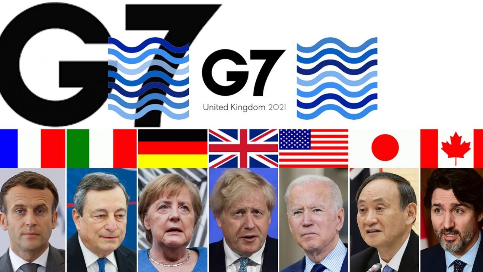 """Kế hoạch """"Xây dựng lại thế giới tốt đẹp hơn"""" (B3W) của G7 sẽ đi tới đâu?"""