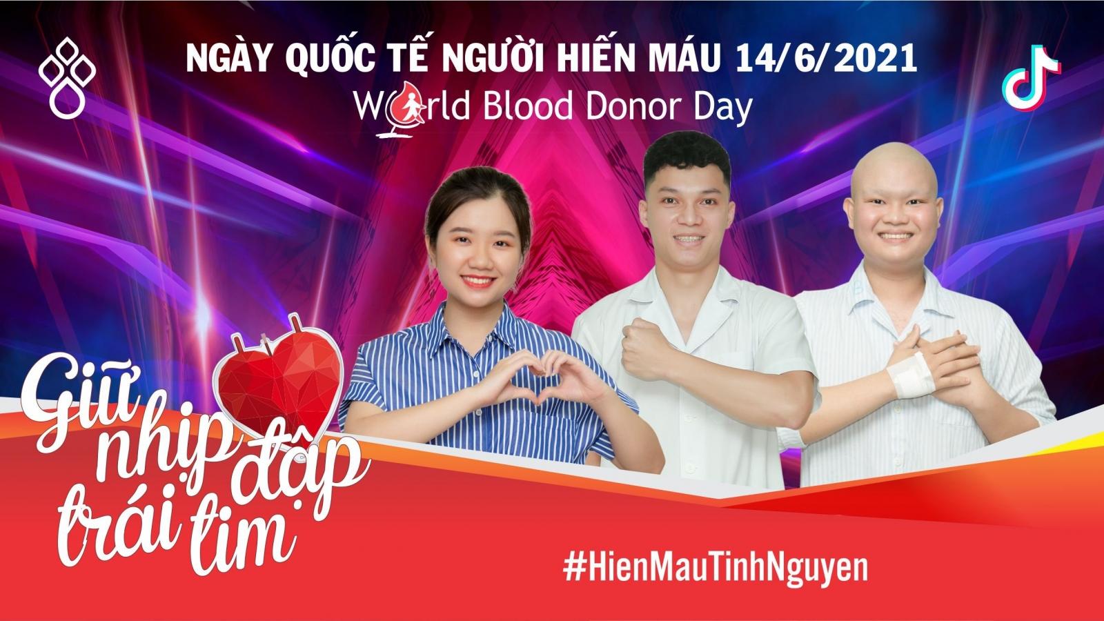 """Chiến dịch """"Giữ nhịp đập trái tim"""" trên TikTok giúp người bệnh cần máu vượt qua khó khăn"""