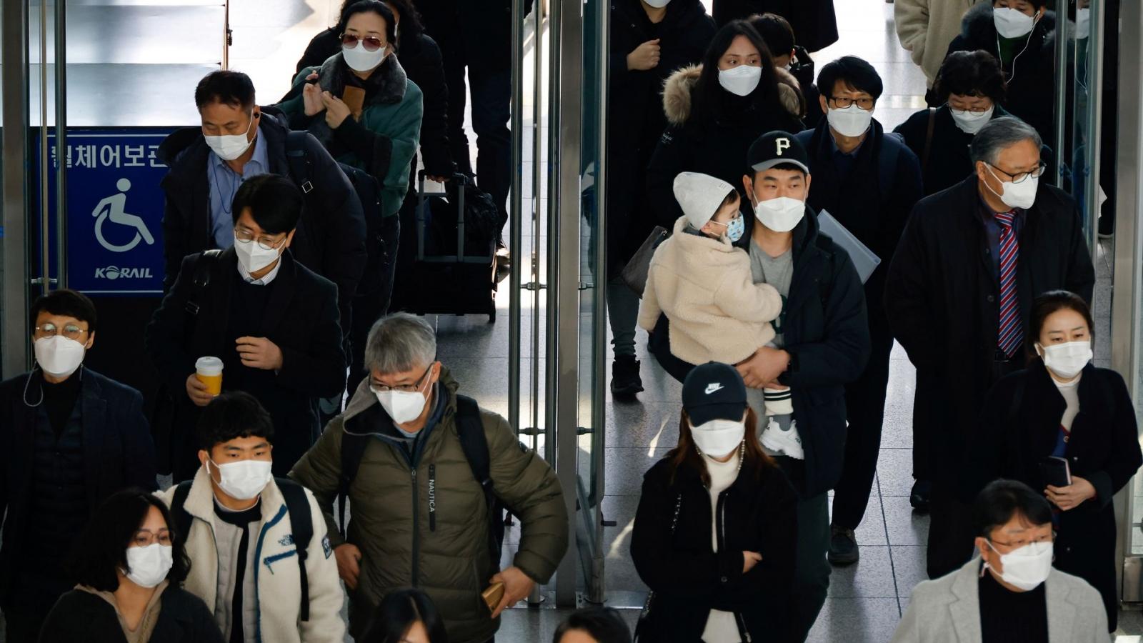 Hàn Quốc lo ngại nguy cơ lan rộng số ca nhiễm biến thể Delta
