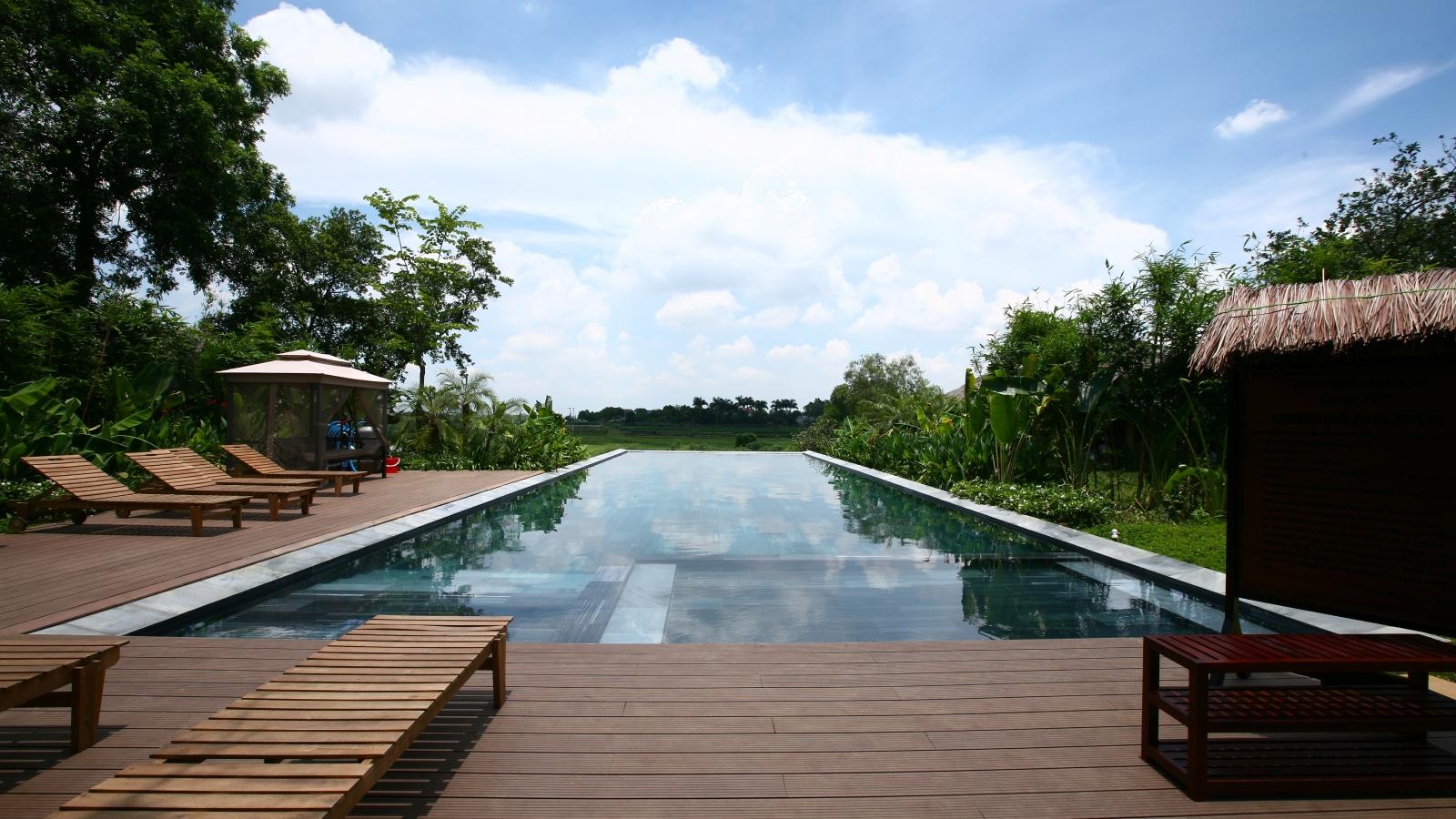 Ngoại thành Hà Nội hút du khách nghỉ dưỡng biệt lập
