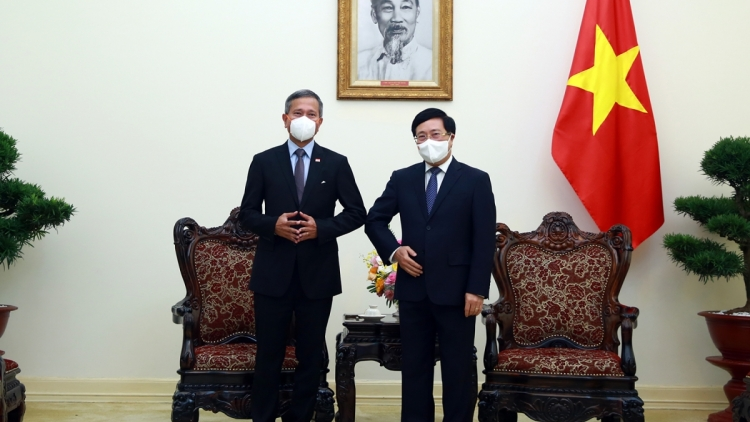 Vietnam, Singapore work towards mutual recognition of vaccination certificates