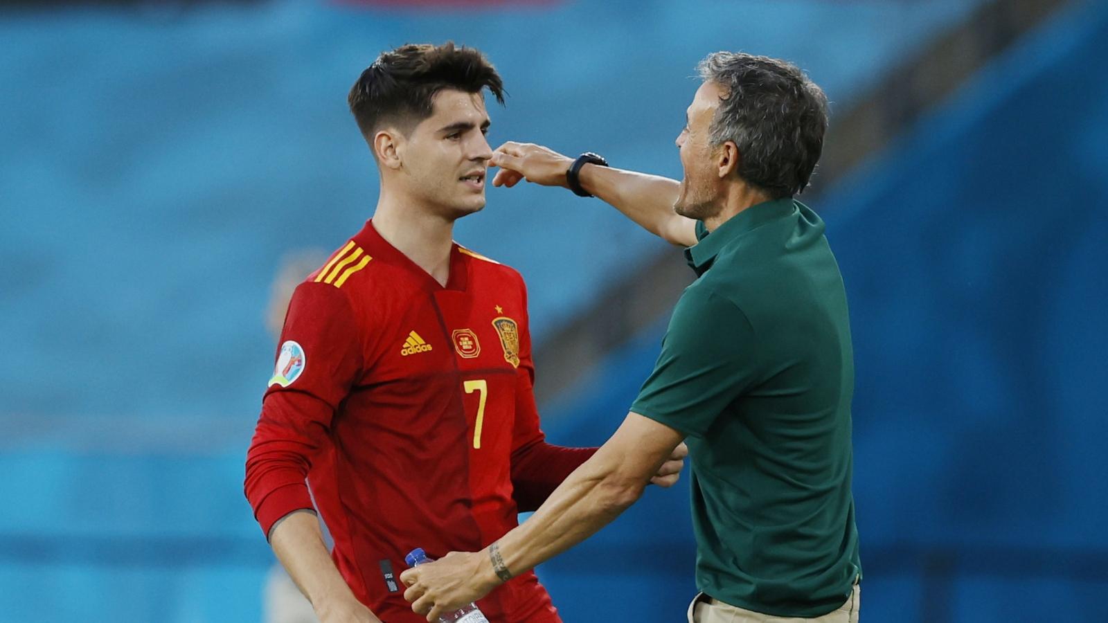 """Trực tiếp Tây Ban Nha 1-0 Ba Lan: Morata """"thông nòng"""""""
