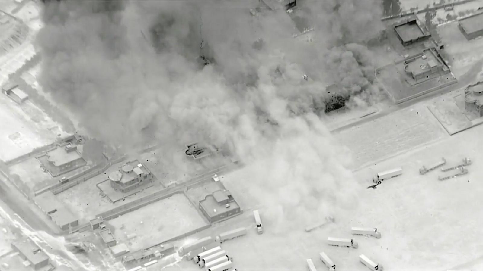 Mỹ công bố video không kích ở Iraq và Syria ngay trước thềm đàm phán hạt nhân Iran