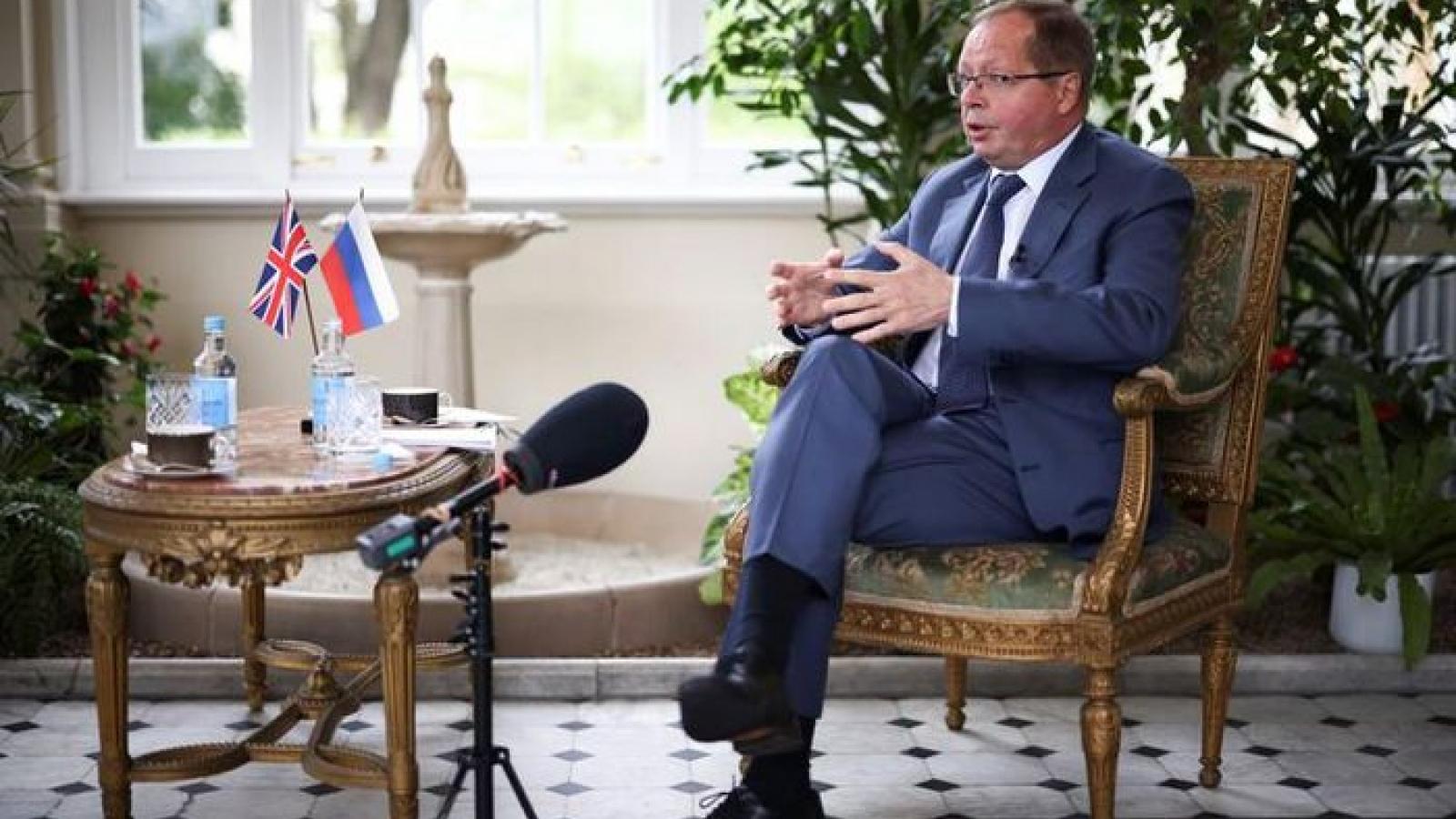 Đại sứ Nga phản bác tuyên bố coi Nga là mối đe dọa số một của Anh
