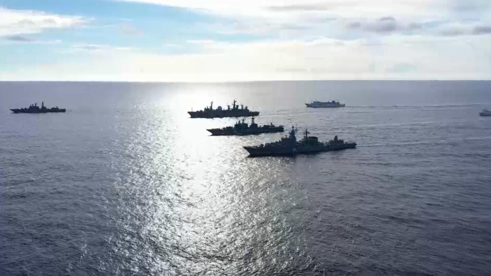 Nga tập trận quy mô lớn ở Thái Bình Dương