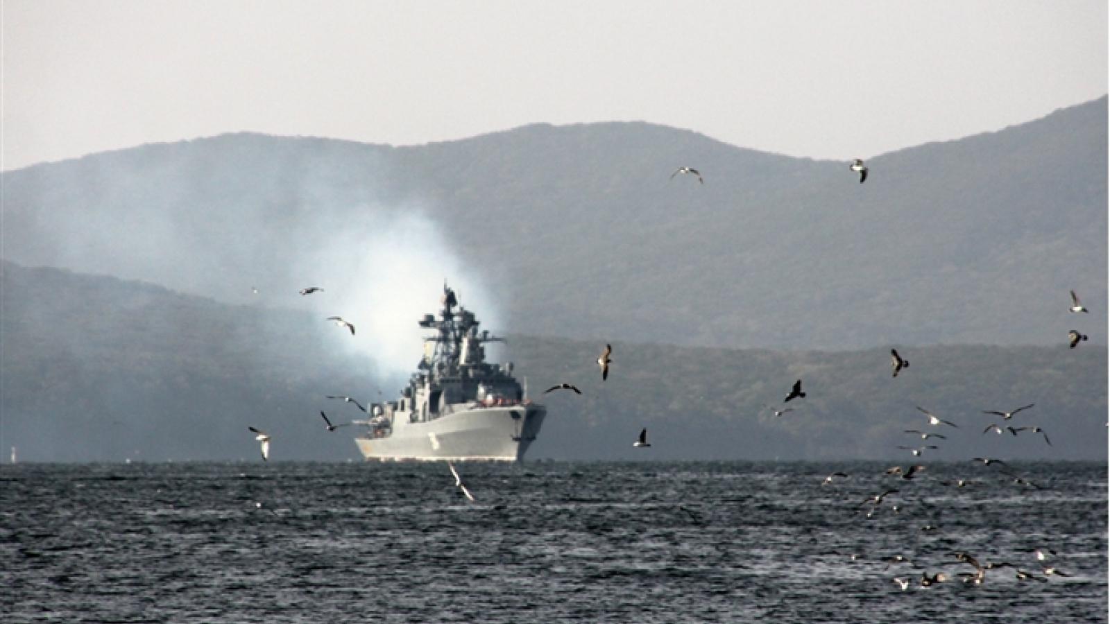Nhật Bản phản đối Nga tập trận ở quần đảo Nam Kuril