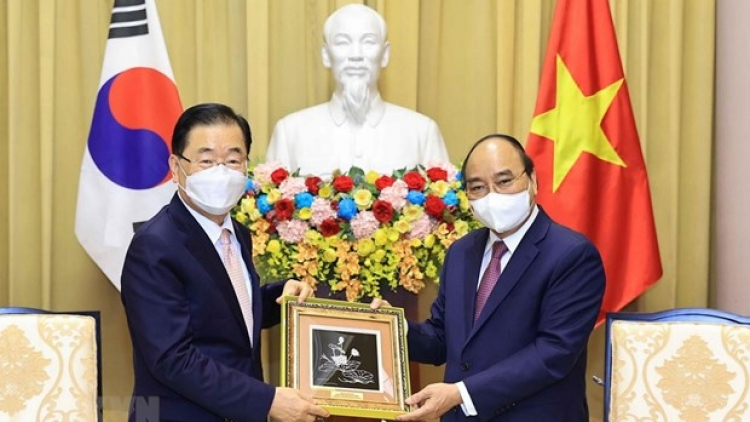 VN leaders receive RoK Foreign Minister