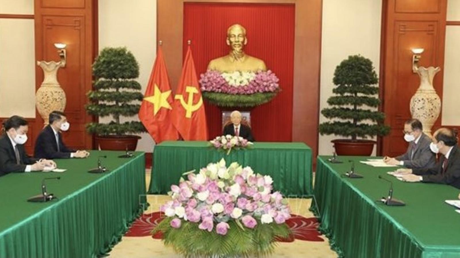 Vietnam treasures ties with Sri Lanka: Party chief