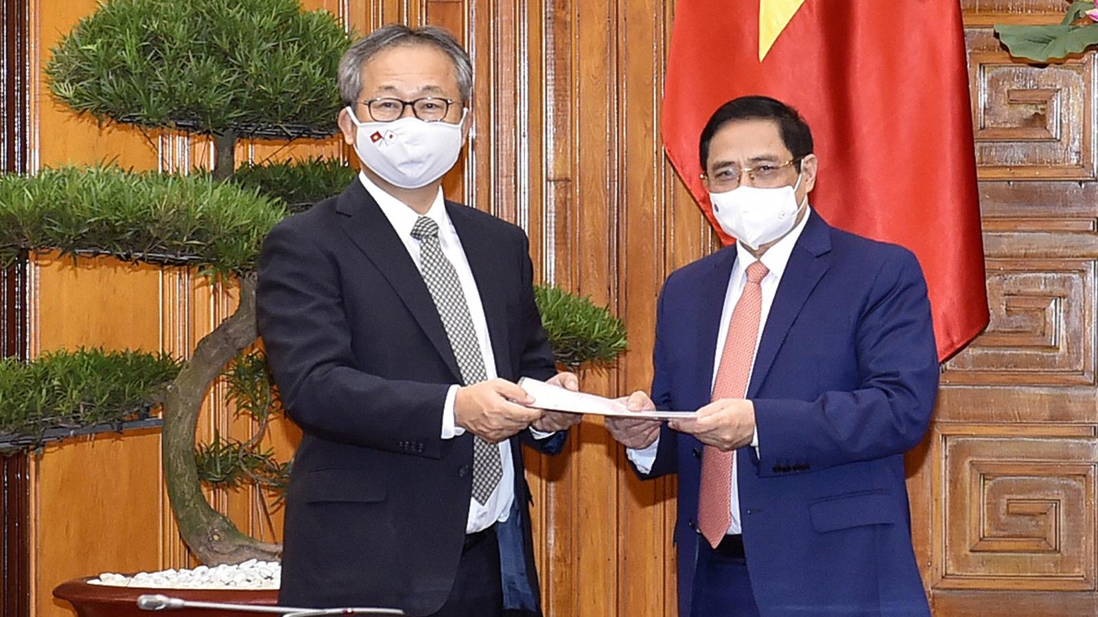 Japan grants Vietnam 1 million doses of COVID-19 vaccine