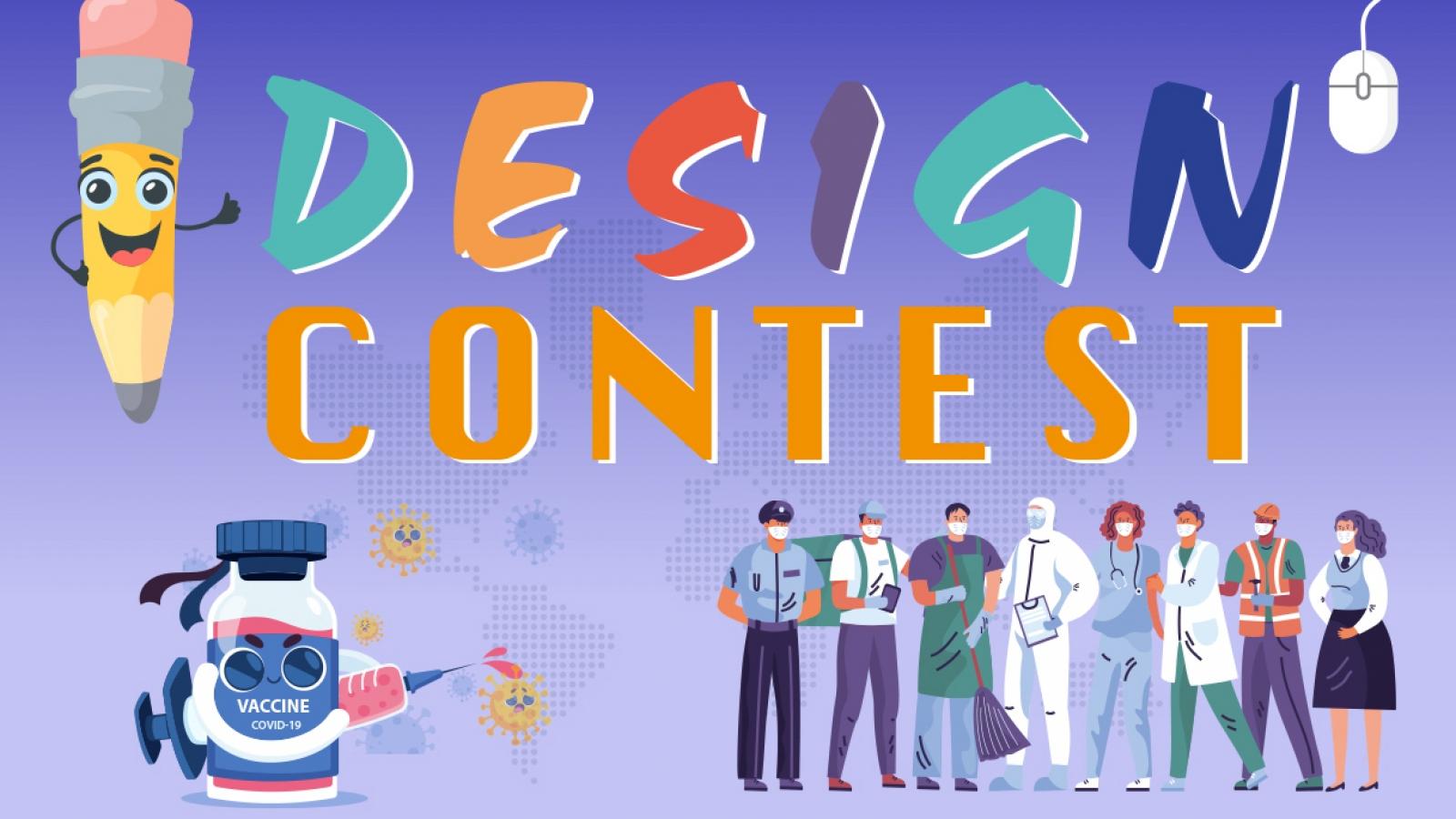 """Cuộc thi thiết kế """"Cùng nhau chiến thắng Covid-19"""" với tổng giải thưởng hơn 100 triệu đồng"""