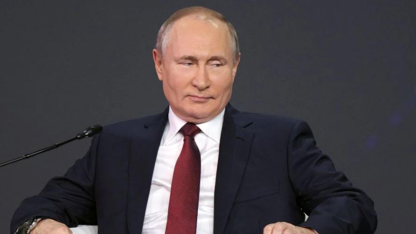 Tổng thống Putin: Lệnh trừng phạt của Mỹ với Dòng chảy phương Bắc 2 là vô nghĩa