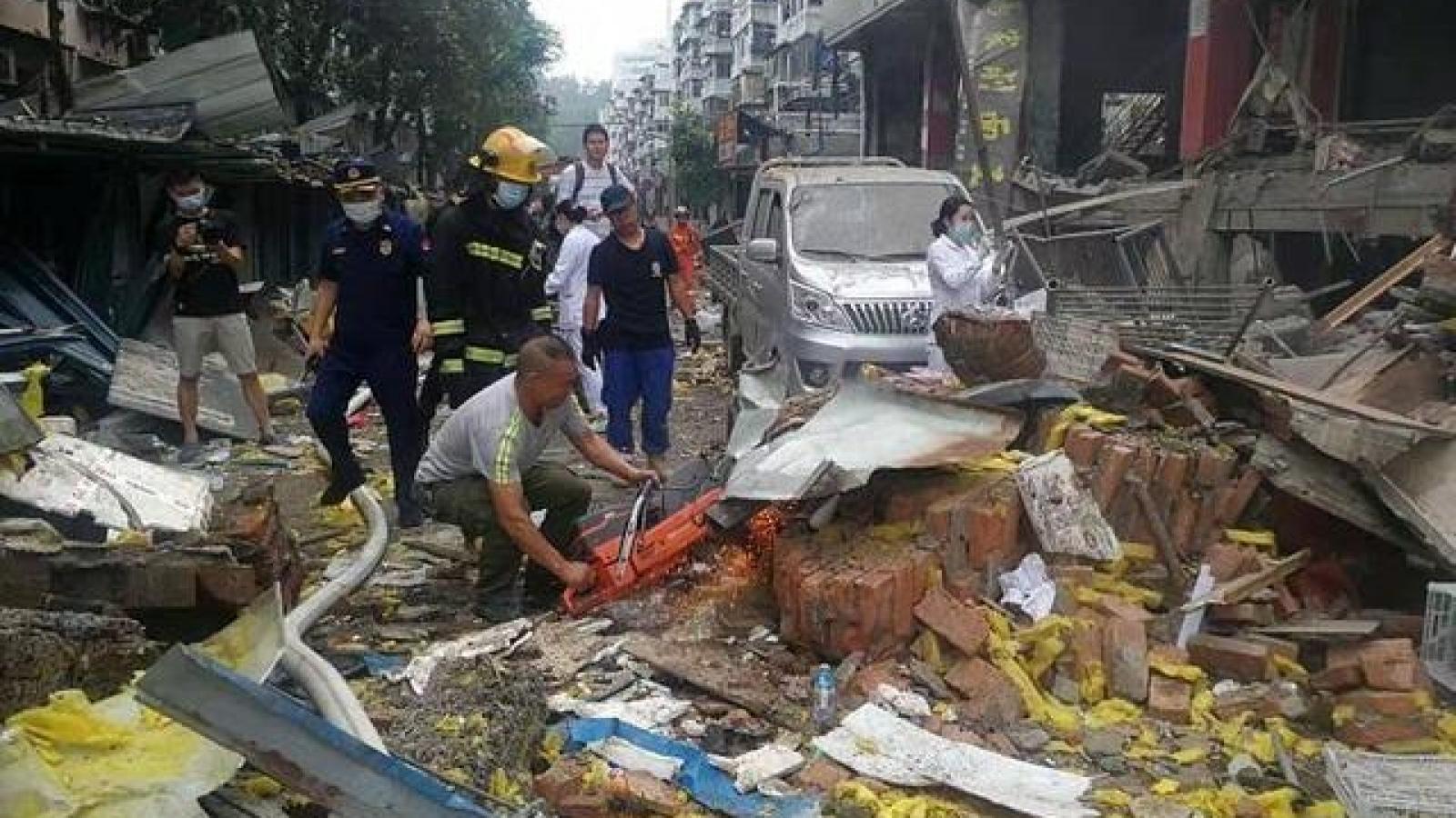 Nổ khí ga tại Hồ Bắc (Trung Quốc) khiến gần 50 người chết và trọng thương