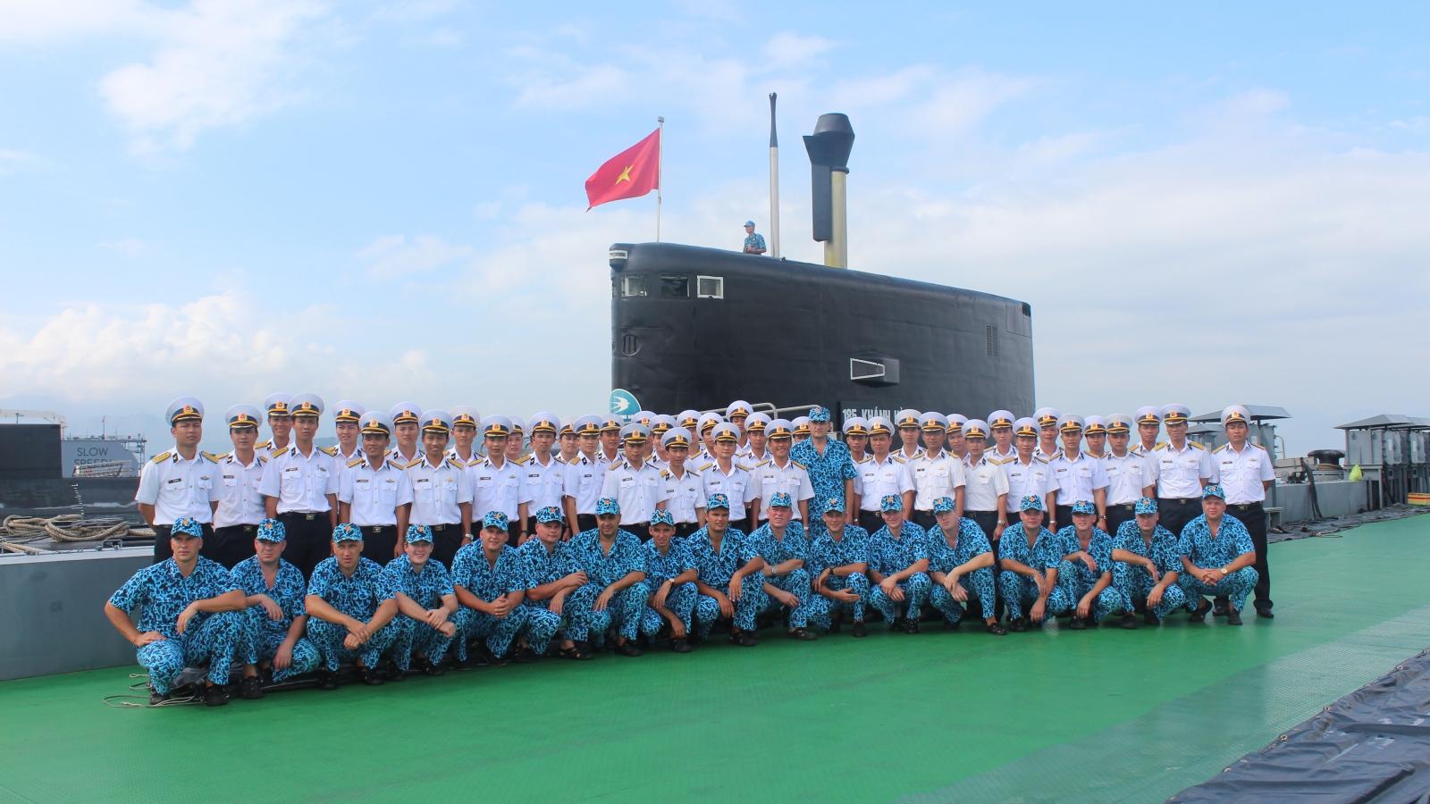 10 năm thành lập Lữ đoàn Tàu ngầm 189: Lực lượng tinh nhuệ của Hải quân Việt Nam