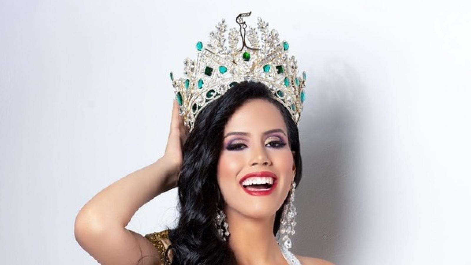 Nét đẹp Latin quyến rũ của nữ sinh báo chí được bổ nhiệm Hoa hậu Hoà bình Guatemala 2021