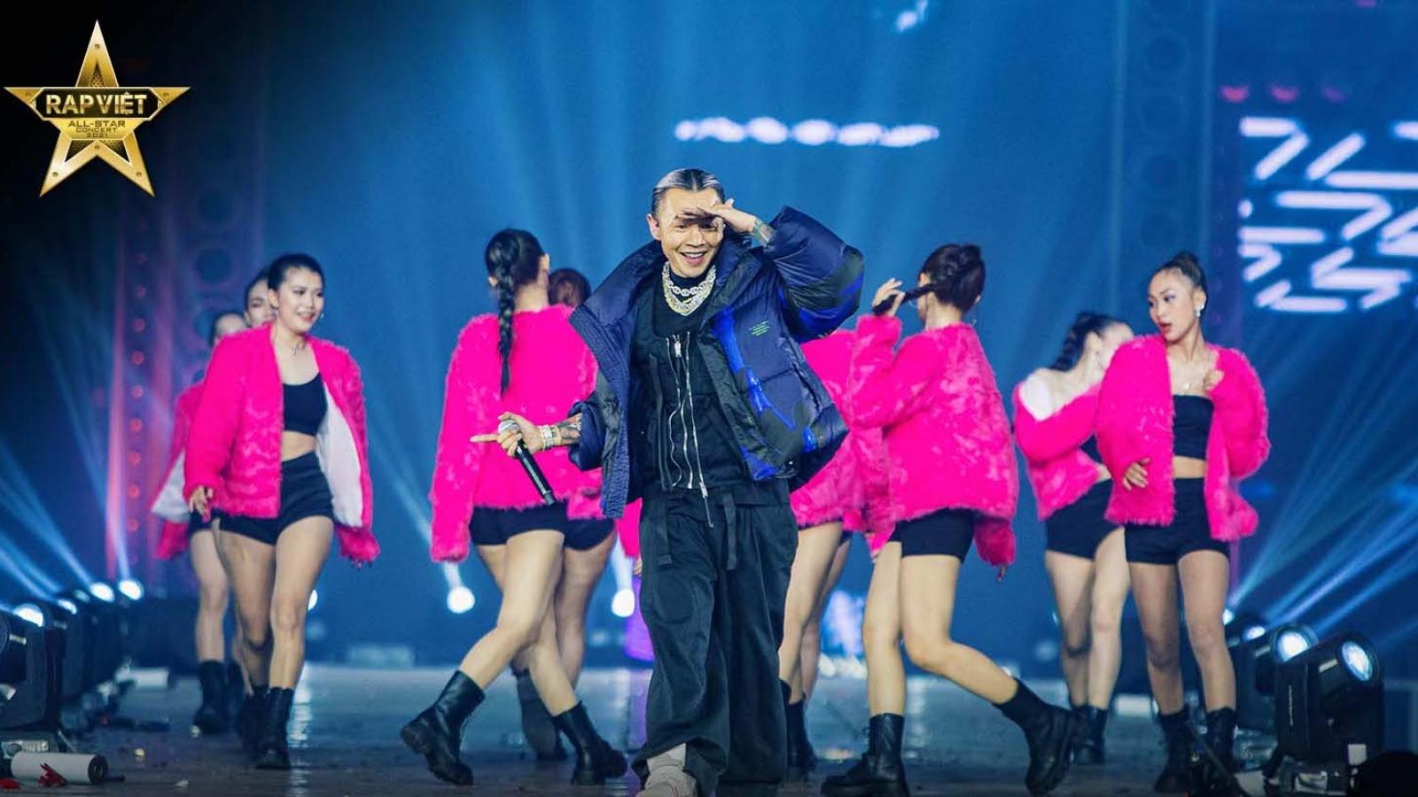 """Concert """"Rap Việt All-Star"""" chính thức được công chiếu trên YouTube"""