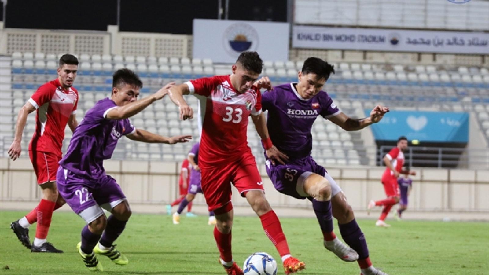 Vietnam 1-1 Jordan in friendly ahead of World Cup qualifiers