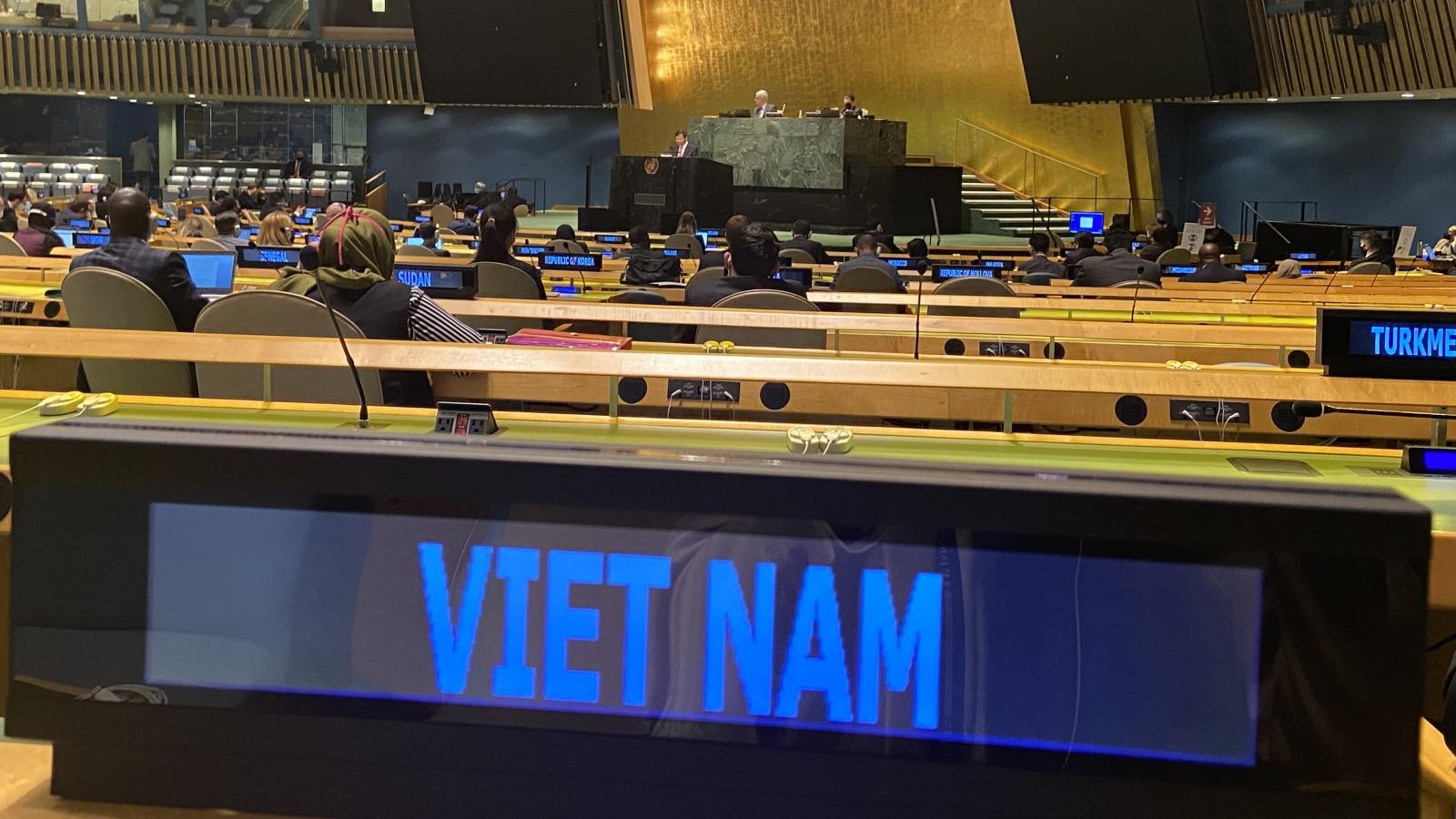 Đại hội đồng LHQ thông qua Nghị quyết kêu gọi Mỹ chấm dứt cấm vận Cuba