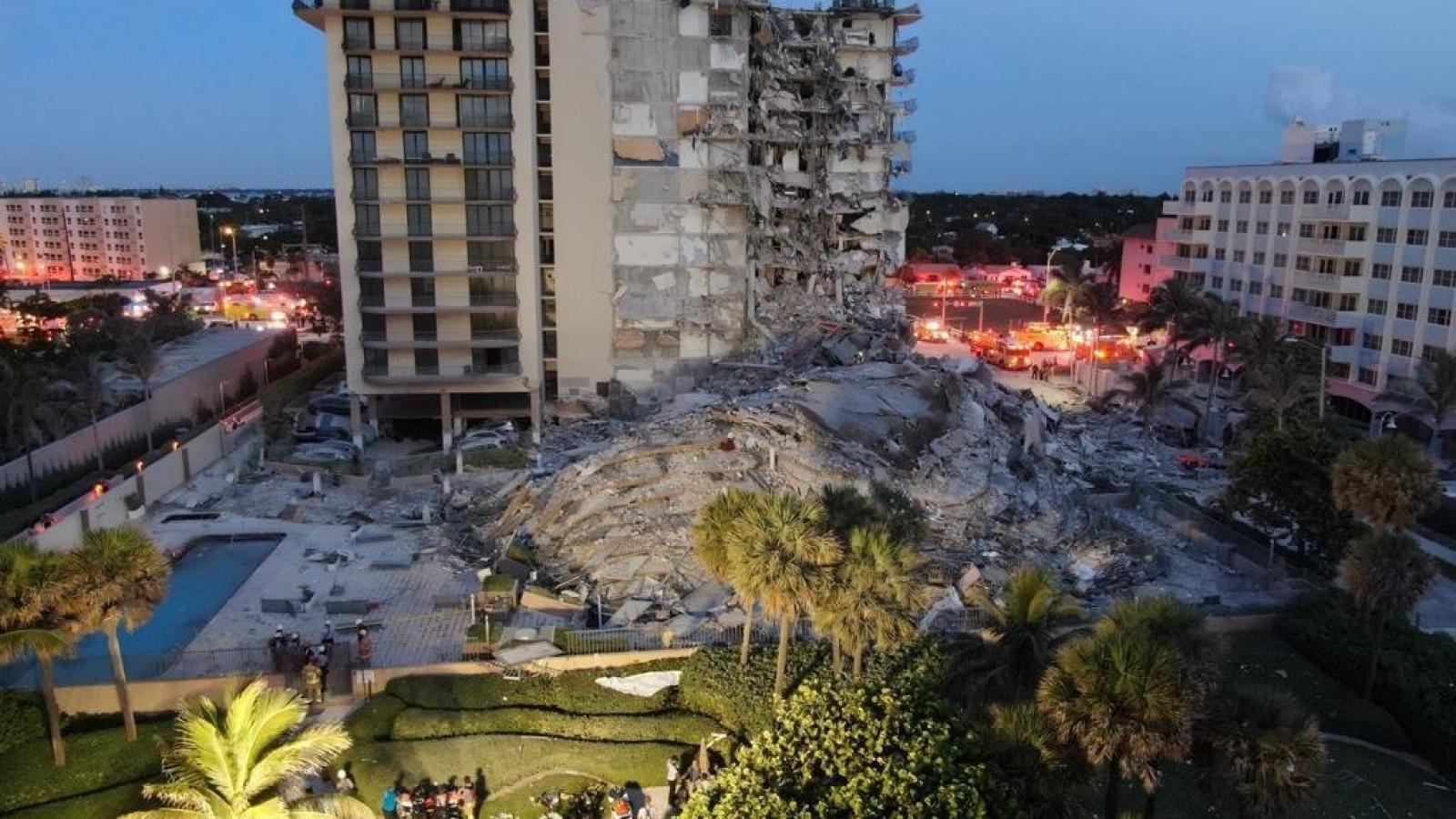 Vụ sập nhà tại Mỹ: Trong số các nạn nhân có nhiều công dân nước ngoài