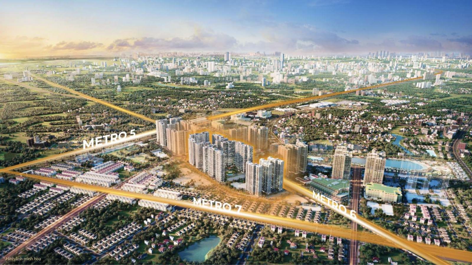 """The Metrolines – """"tâm điểm vàng"""" giúp Vinhomes Smart City giành giải APPA 2021"""