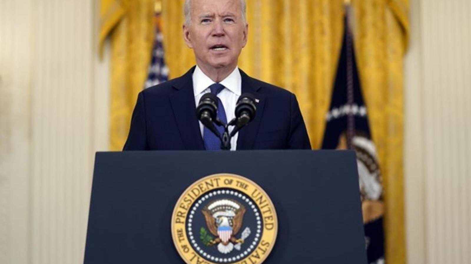 Tổng thống Biden tiếp tục khích lệ người dân Mỹ đi tiêm vaccine ngừa Covid-19