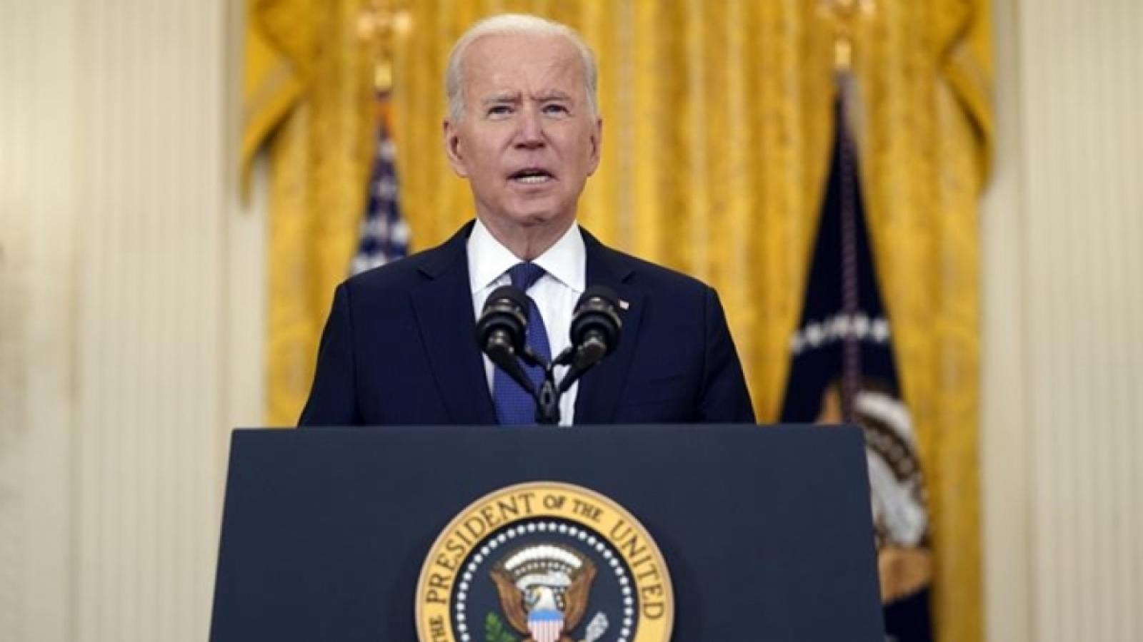 Tổng thống Mỹ Joe Biden bắt đầu chuyến công du nước ngoài đầu tiên