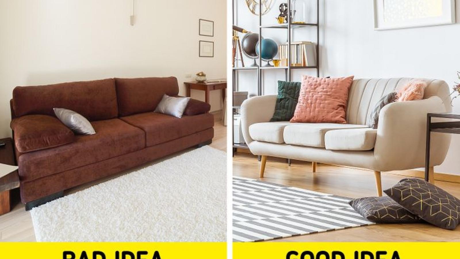 8 sai lầm thường mắc phải khi thiết kế căn hộ nhỏ