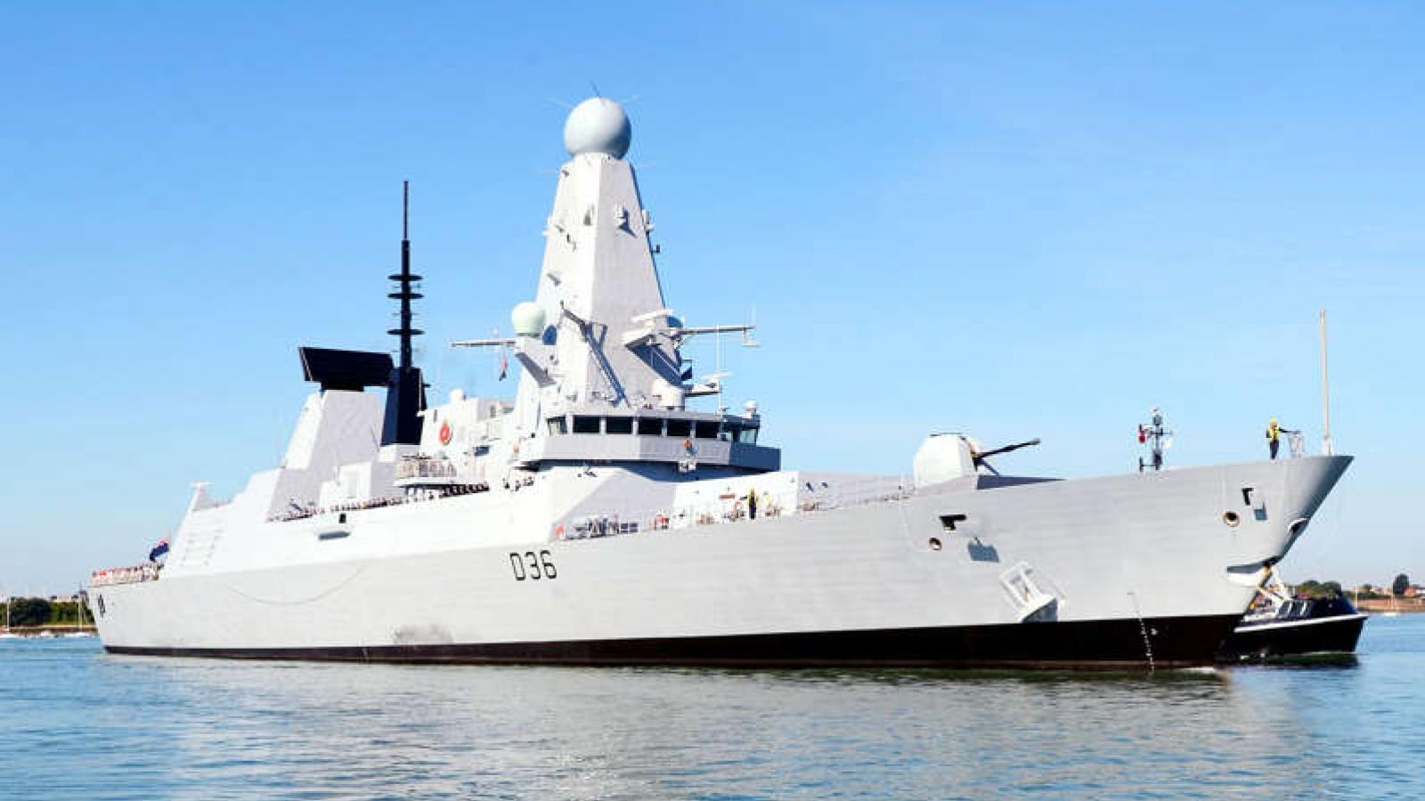 """Nga tố Mỹ """"câu kết"""" với Anh trong vụ tàu chiến trên Biển Đen"""