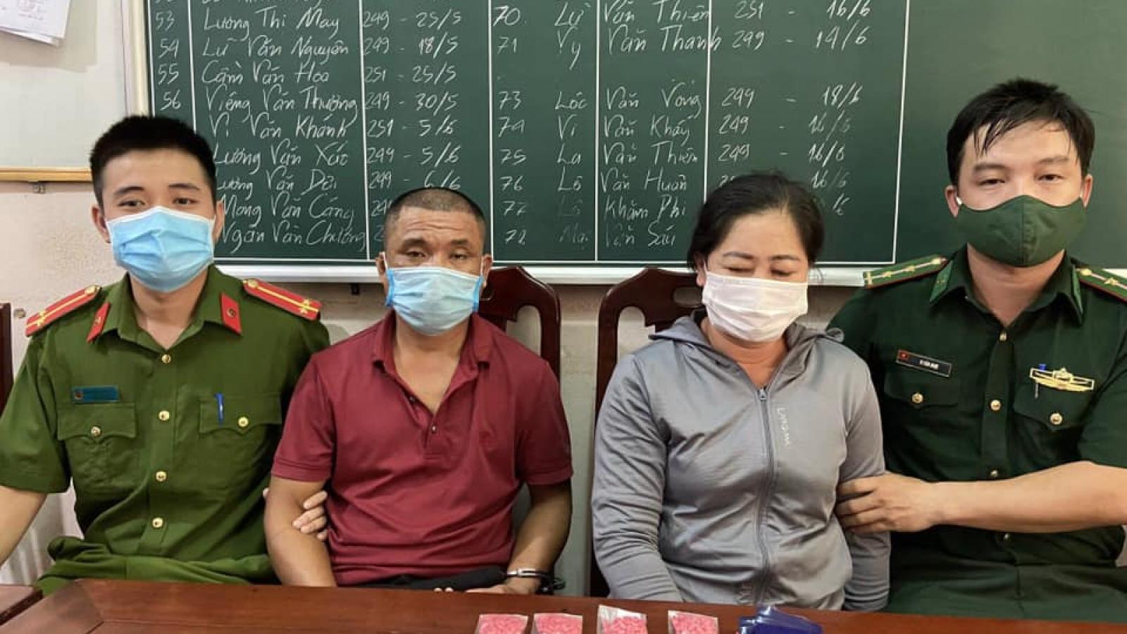 """Công an huyện """"đánh"""" 2 chuyên án bắt 3 đối tượng tàng trữ ma túy"""