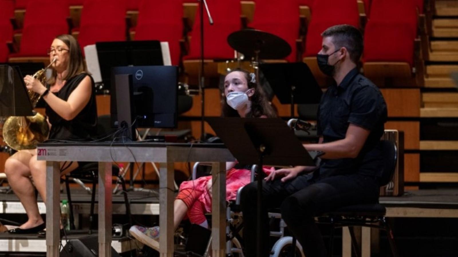 Công nghệ bắt chuyển động mắt: Cơ hộiâm nhạc chongười khuyết tật