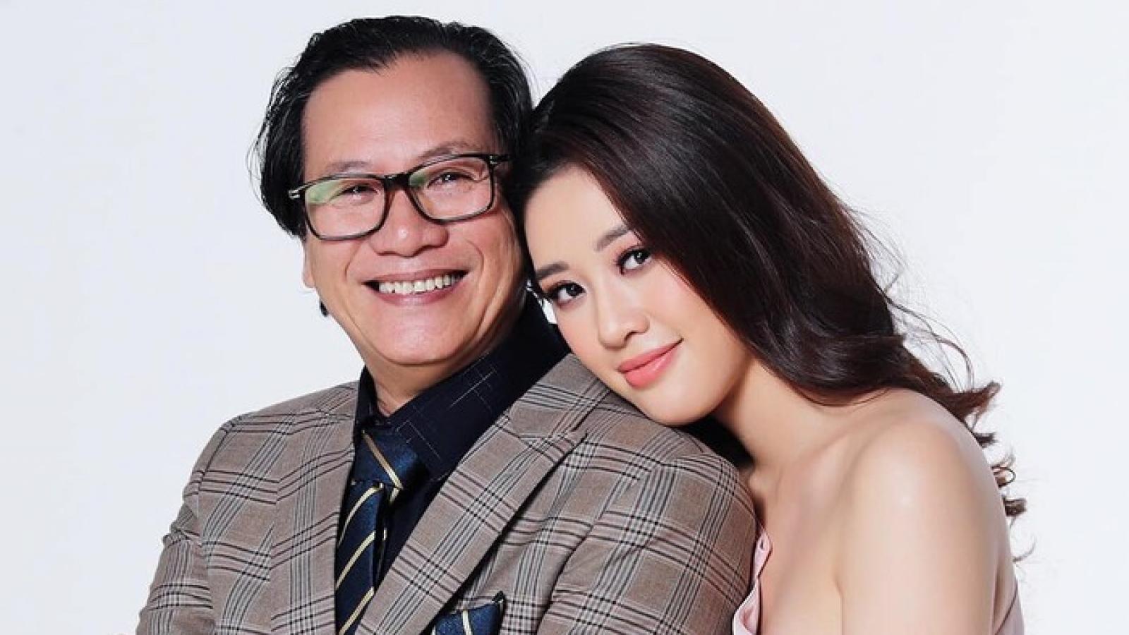 Xúc động dòng tâm sự của Hoa hậu Khánh Vân nhân Ngày của cha