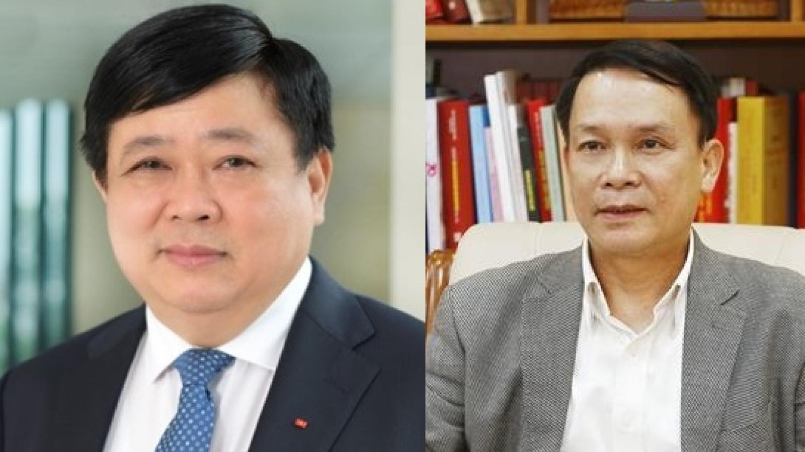Tổng Giám đốc VOV và TTXVN thôi giữ chức vụ từ ngày 1/6