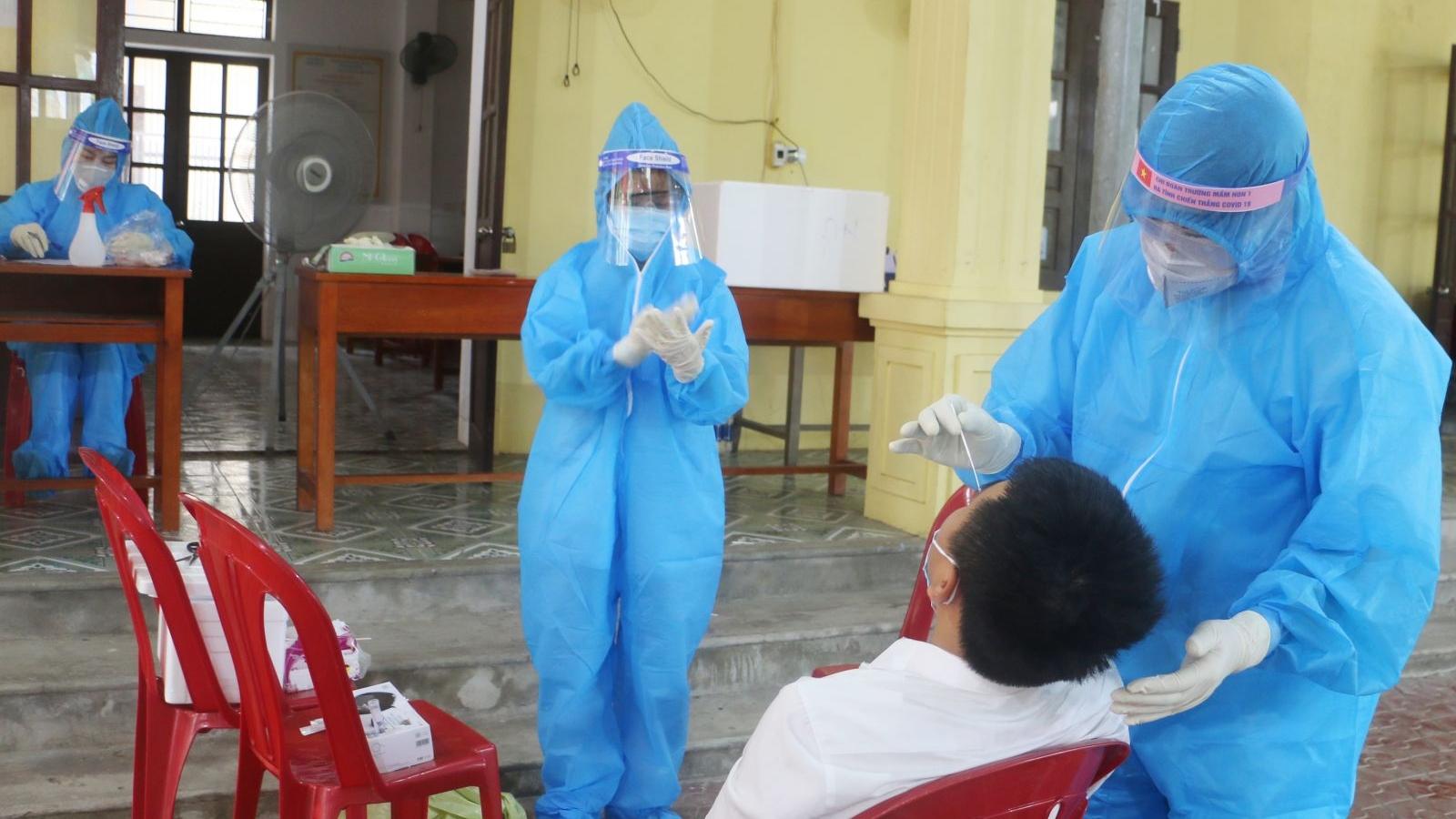 596 F1 tại Hà Tĩnh đã có kết quả xét nghiệm âm tính lần 1