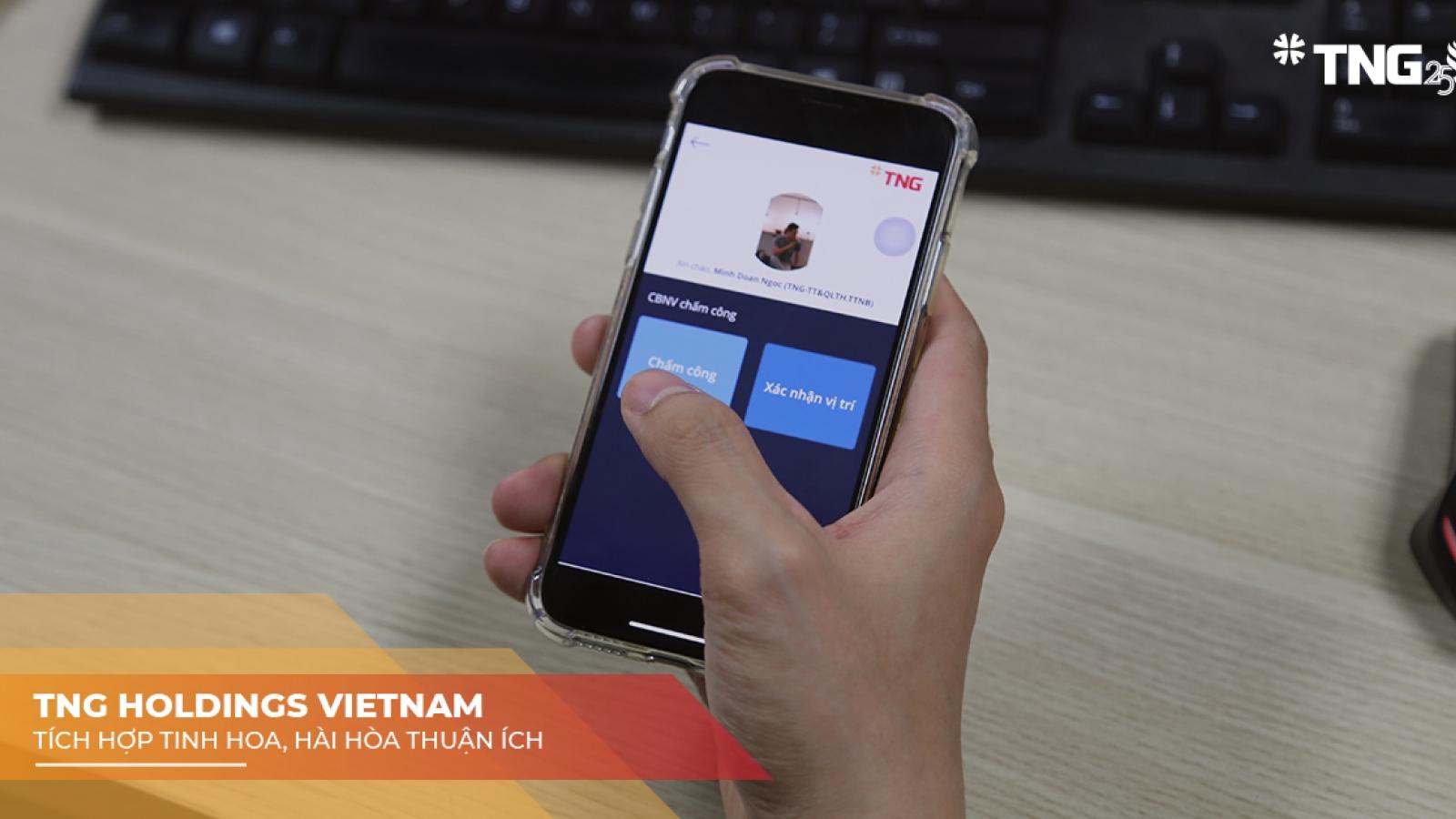 Tập đoàn TNG Holdings Vietnam phòng dịch linh hoạt nhờ chuyển đổi số không điểm chạm