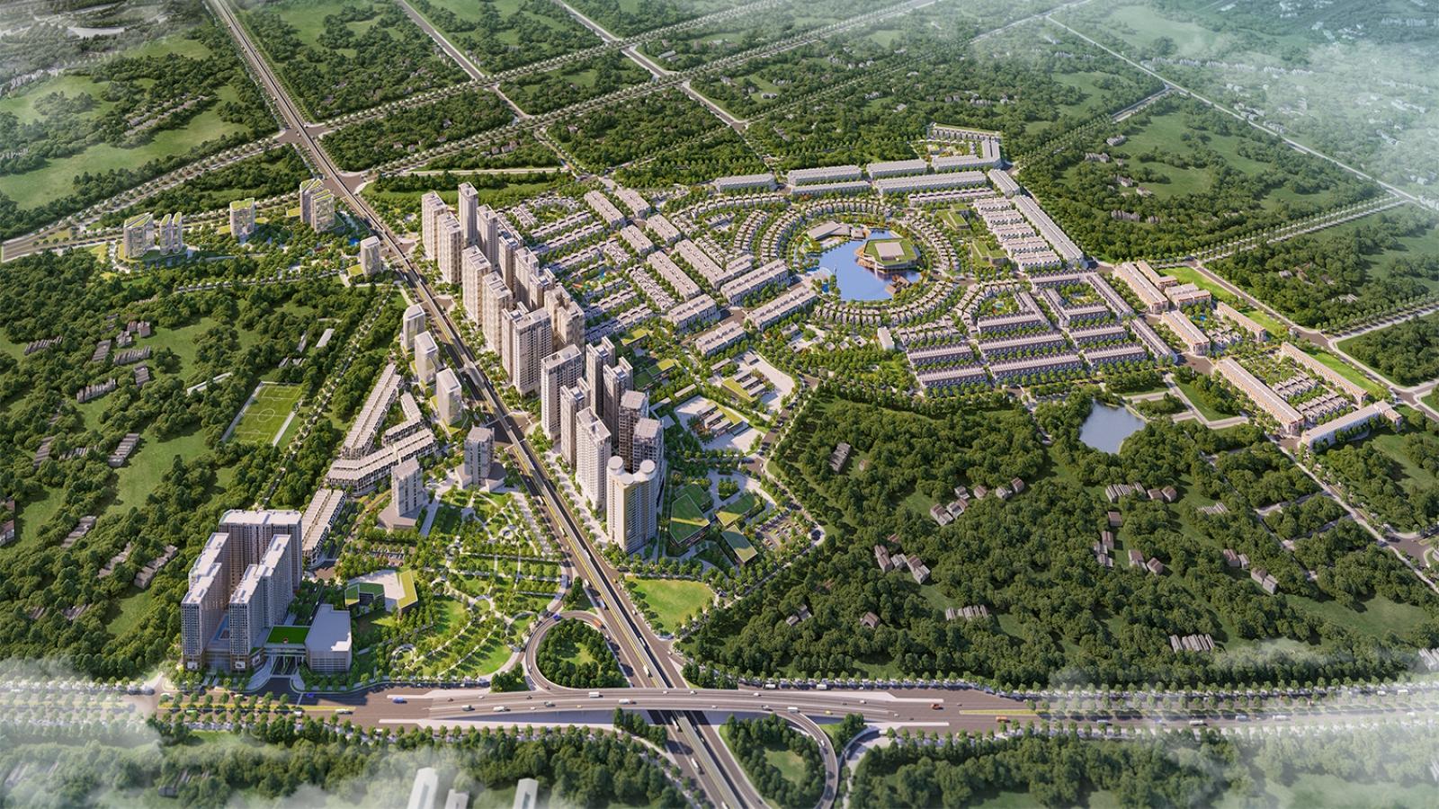Cận cảnh diện mạo khu đô thị Kim Chung Di Trạch