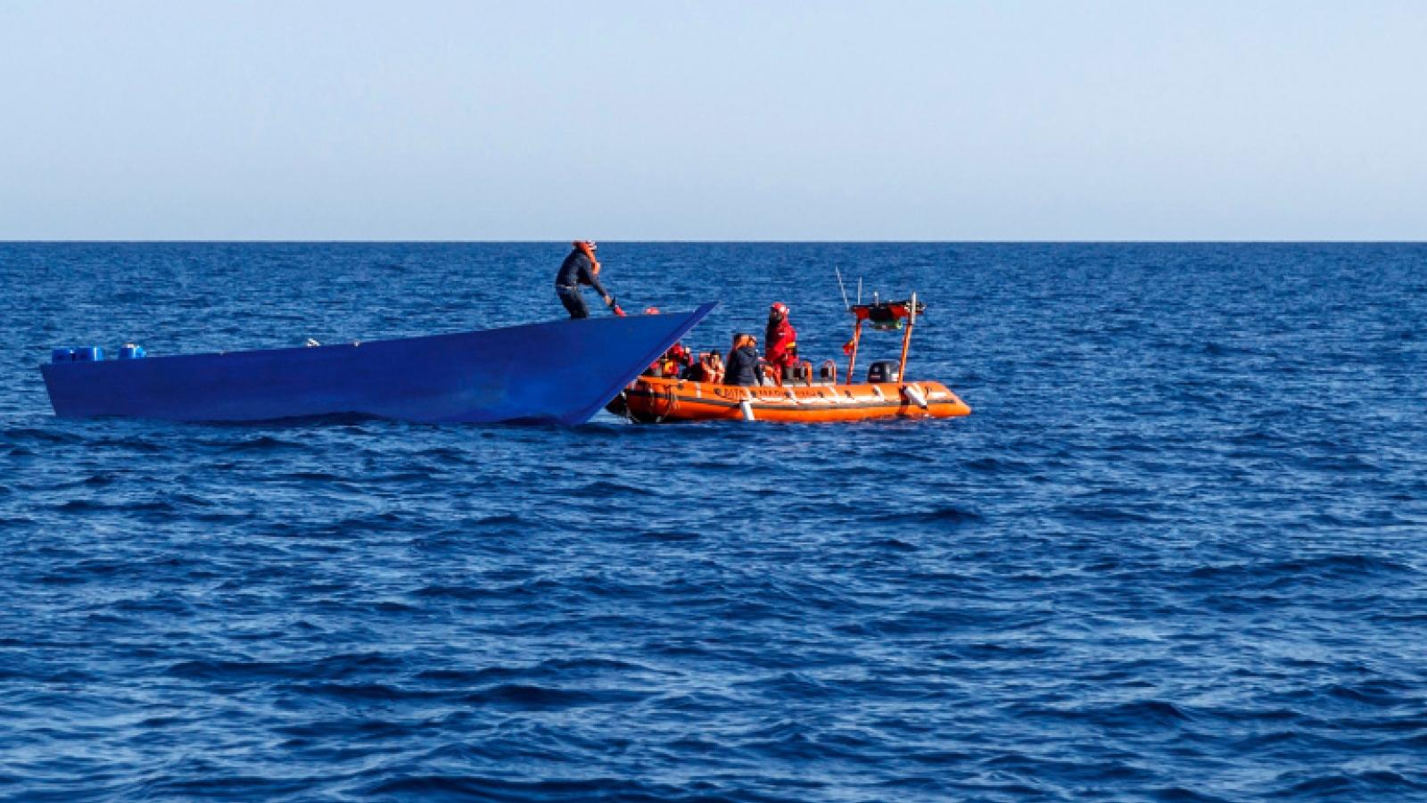 23 người di cư thiệt mạng khi vượt biển đến châu Âu