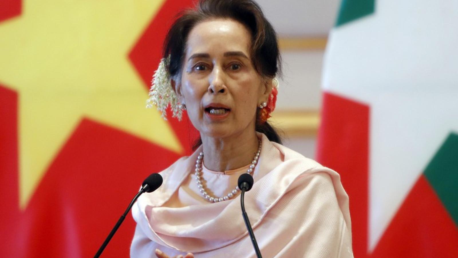 Chính quyền quân sự Myanmar chính thức buộc tội tham nhũng đối với bà Aung San Suu Kyi