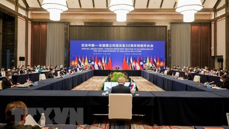 Vietnam attends Special ASEAN-China Foreign Ministers' Meeting
