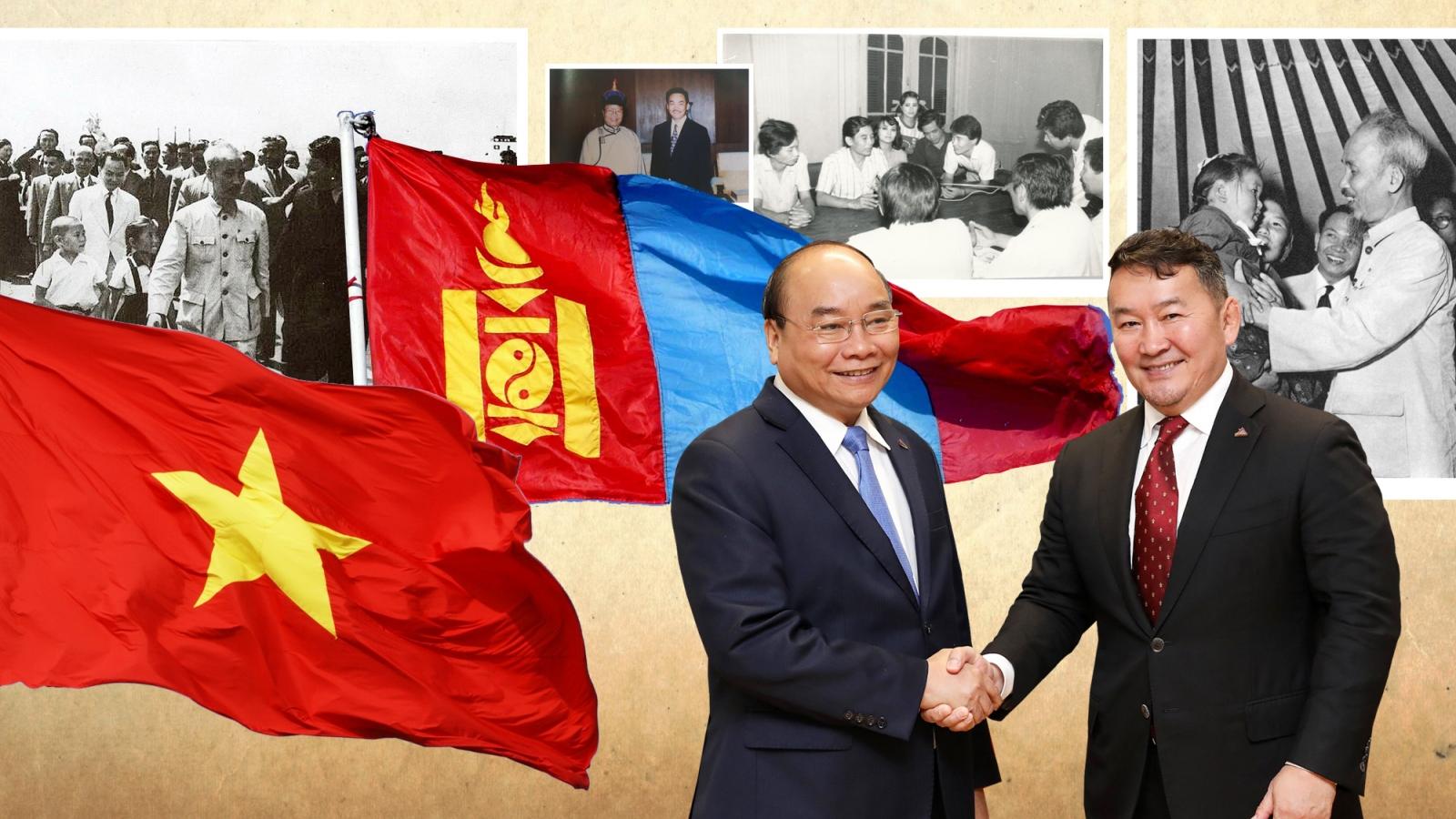 Vietnam, Mongolia cultivate time-honoured friendship