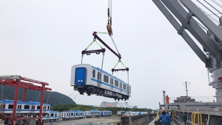 Two more Japanese metro trains due to arrive in Ho Chi Minh City