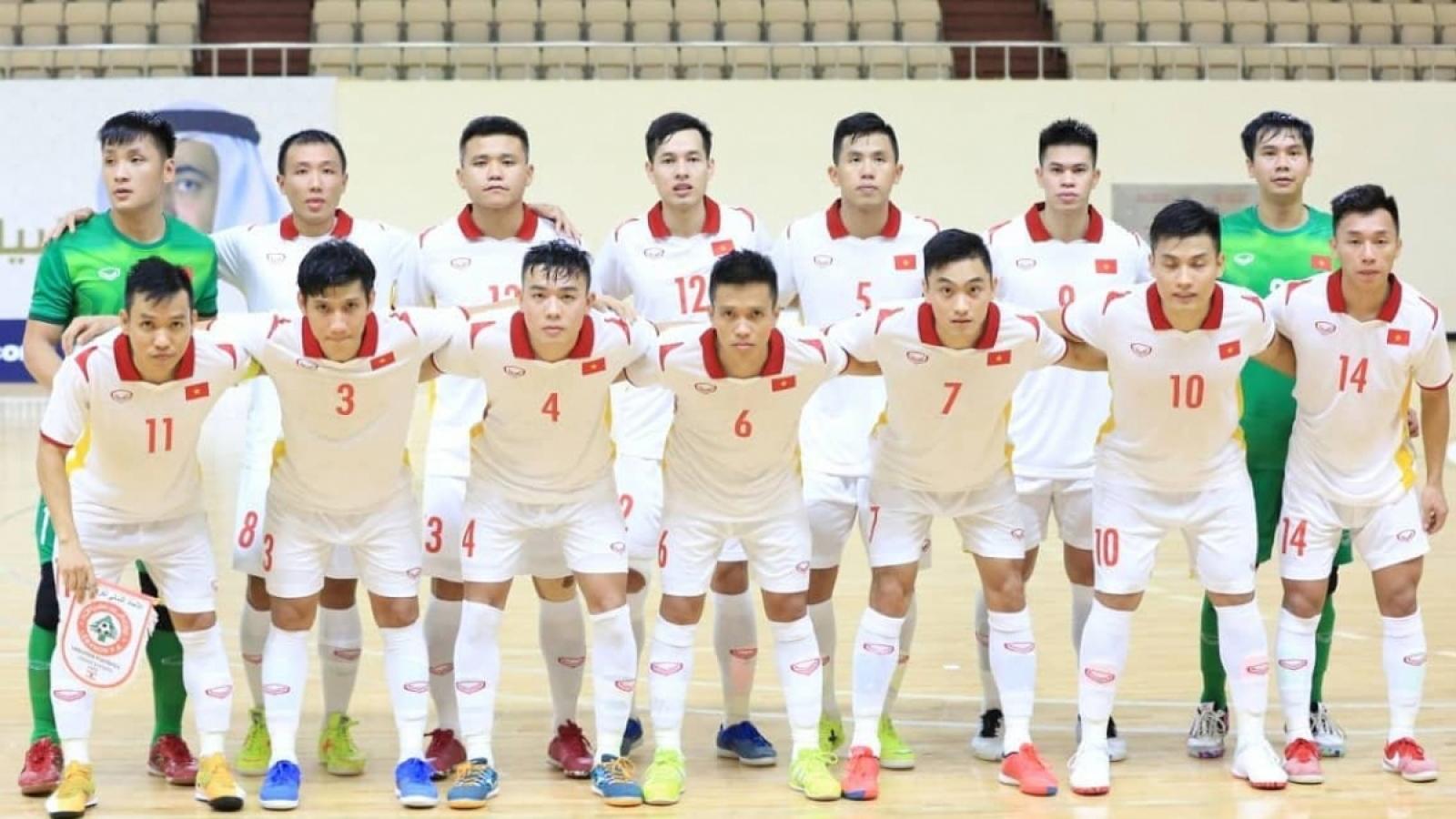 Vietnam drawn against Brazil at Futsal World Cup
