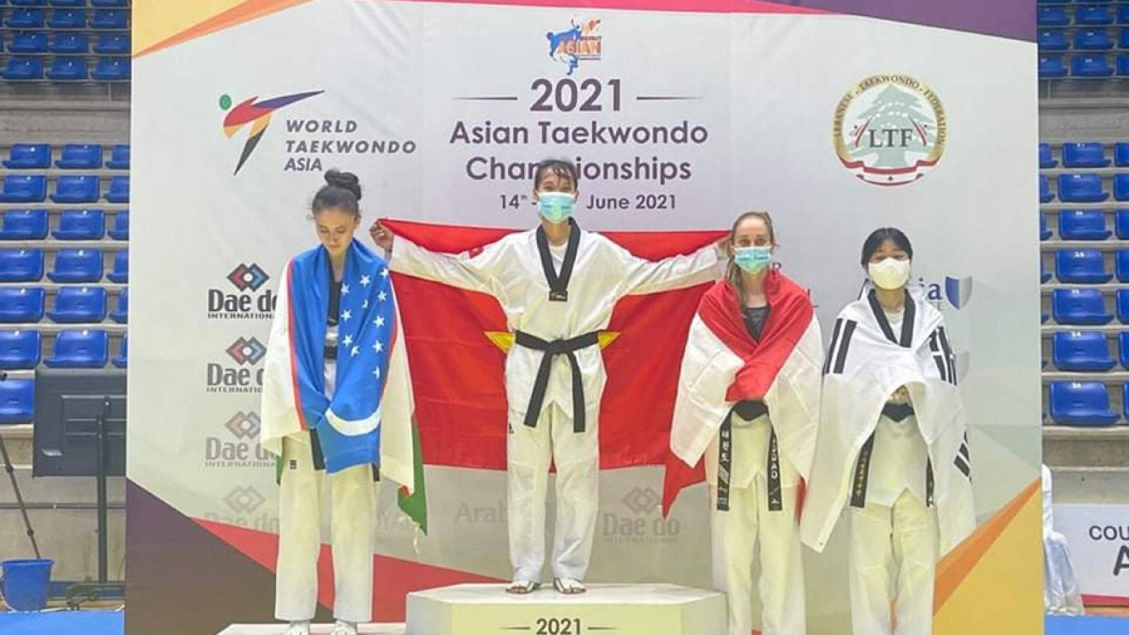Local martial artist bags gold medal at Asian taekwondo tournament