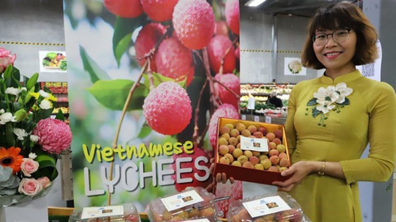 "Vietnamese lychee becomes ""hot item"" in Australia"