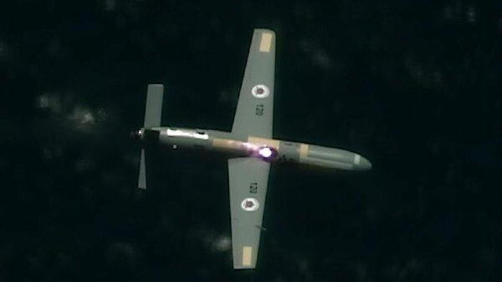 Israel thử nghiệm thành công vũ khí laser bắn hạ máy bay không người lái