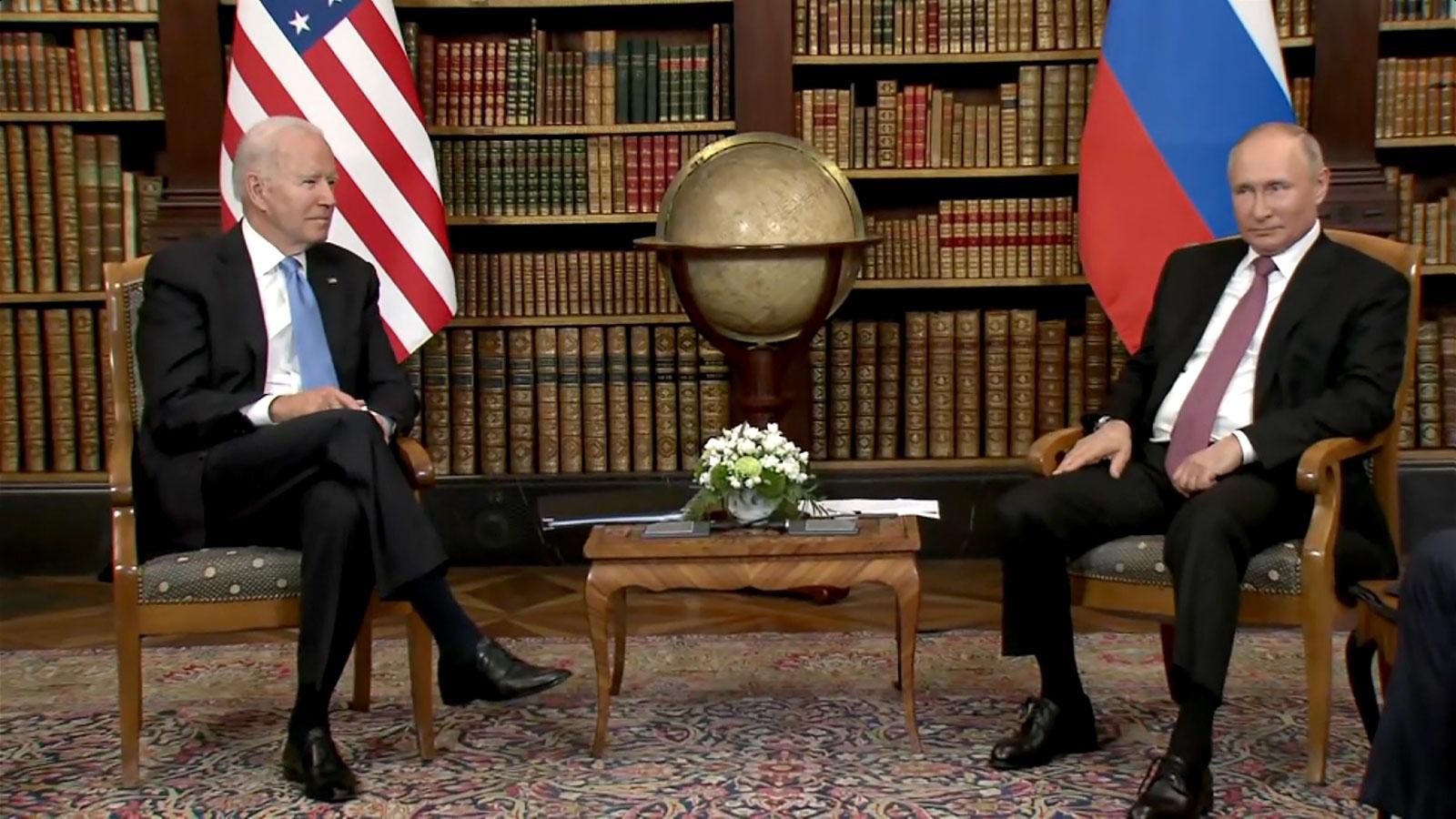 Tổng thống Mỹ Biden và Tổng thống Nga Putin lần đầu tiên hội đàm trực tiếp