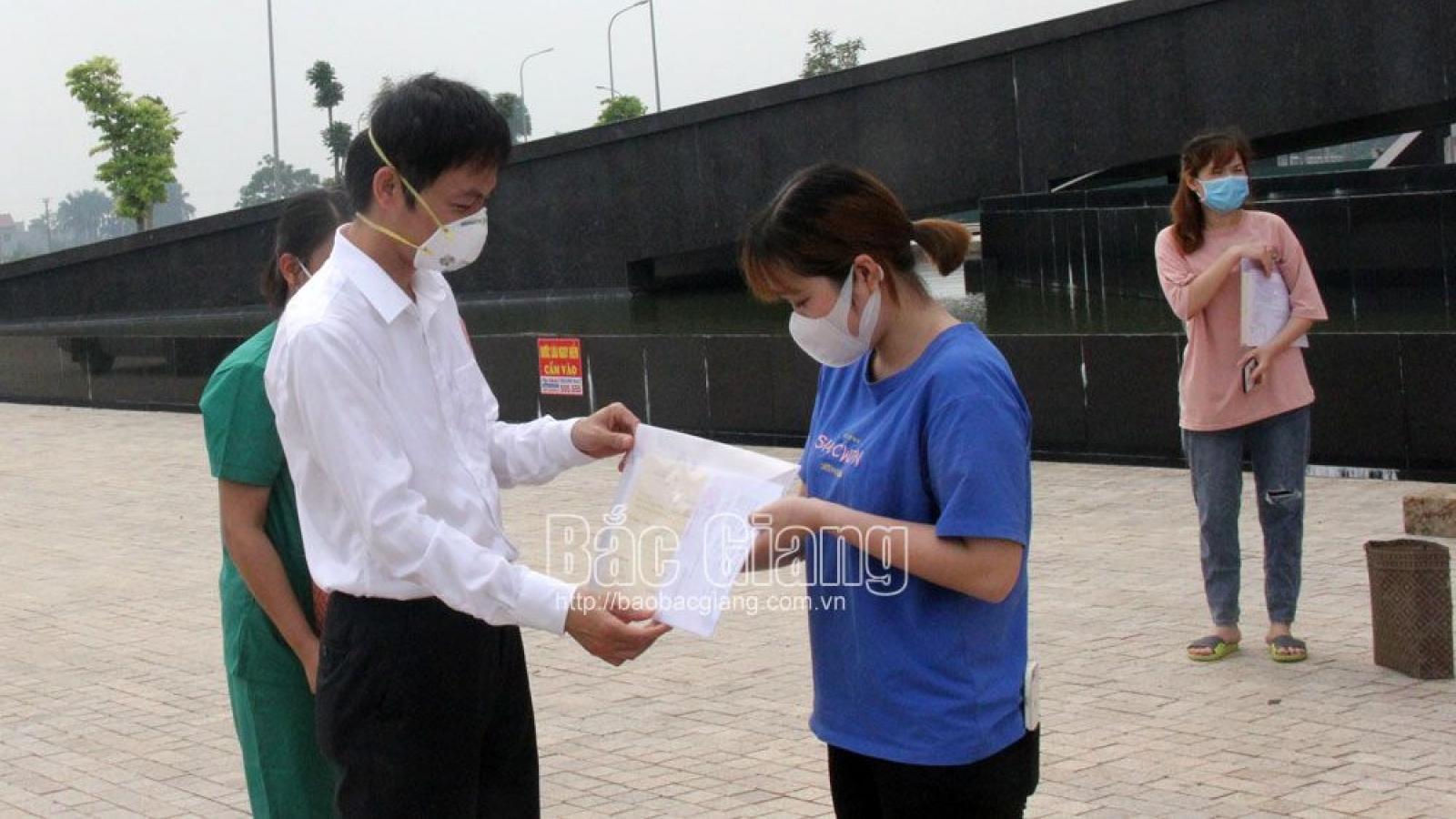 Bắc Giang có thêm 250 bệnh nhân Covid-19 được ra viện