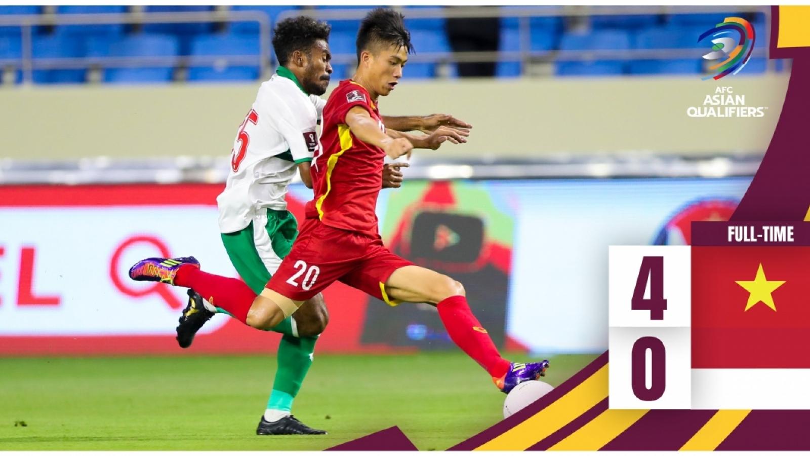 Thai media praises Vietnamese victory over Indonesia
