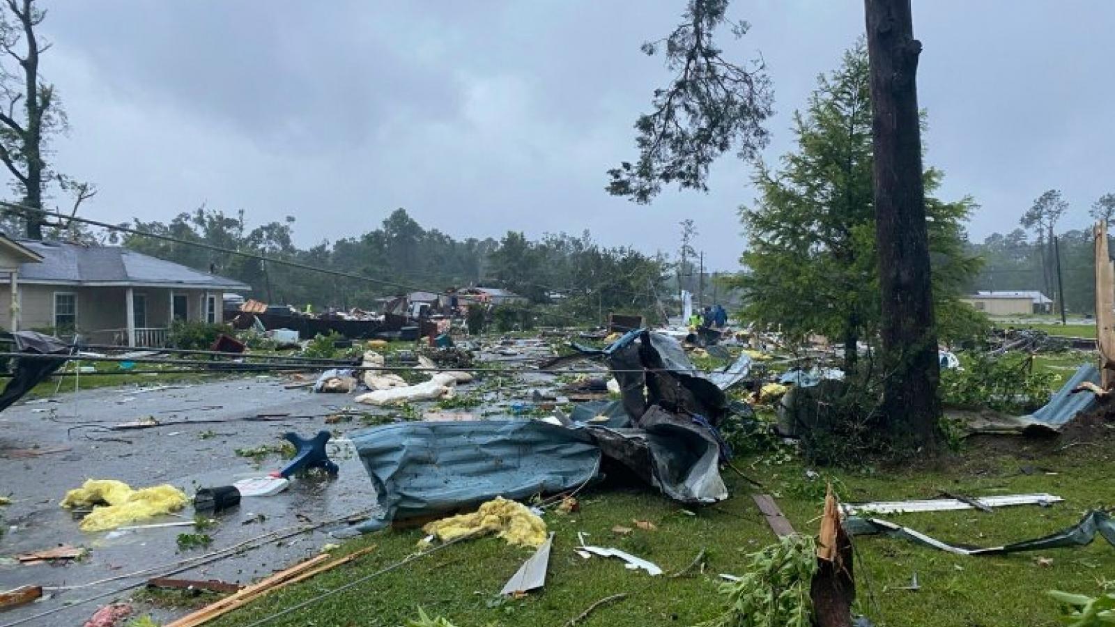 Ít nhất 14 người thiệt mạng do bão nhiệt đới Claudette ở Mỹ